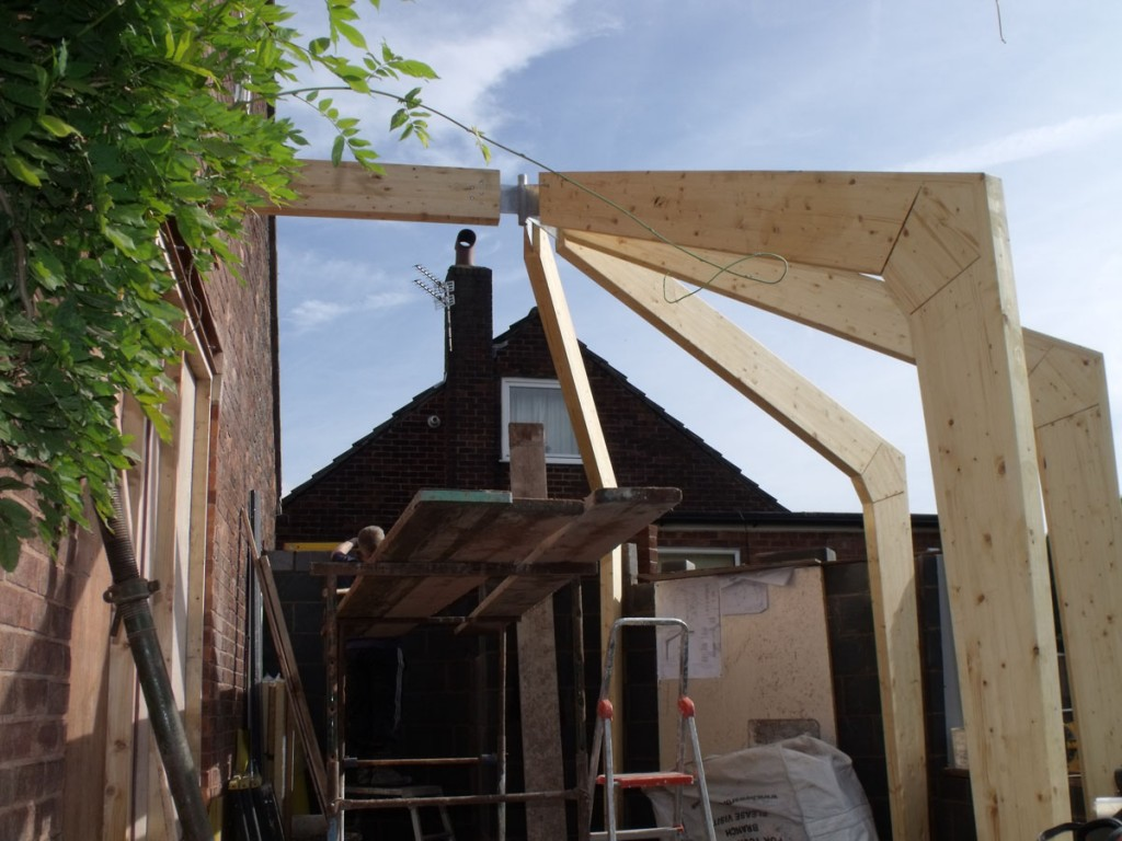 Glulam framed sunrooms